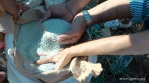 Ενσωμάτωση ζεόλιθου στο Αγαθονήσι-zeolife