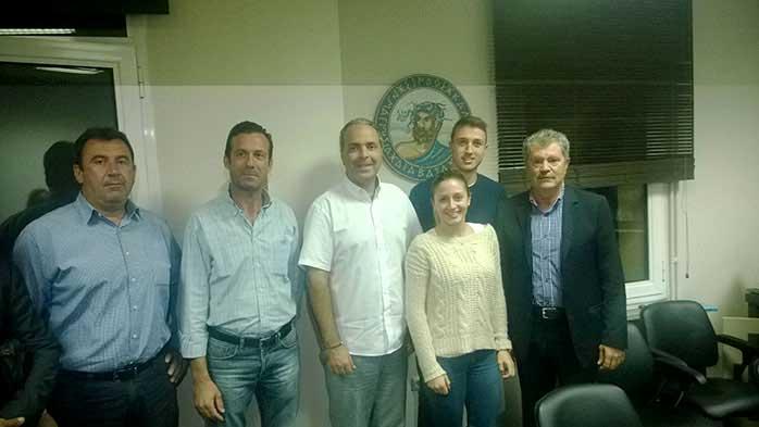 Ενημερωτική συνάντηση του Νίκου Λυγερού με τις Δημοτικές Αρχές του Δήμου Δέλτα 29/09/2014 | Zeolife.gr