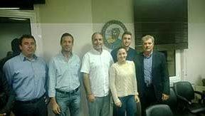 Συνάντηση Δημάρχου Δέλτα Μ. Φωτόπουλου με το Ν. Λυγερό | Zeolife.gr
