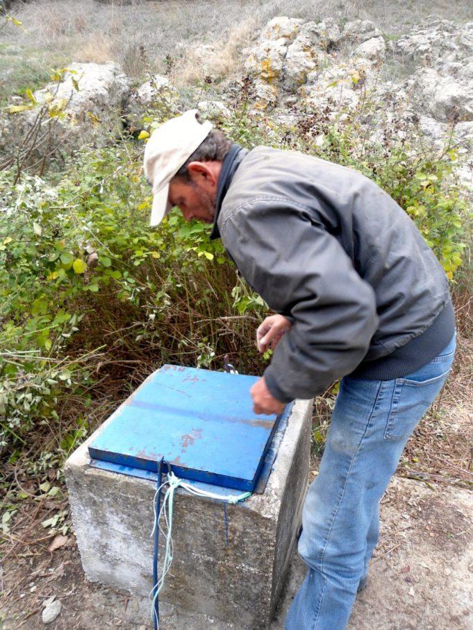 Καθαρισμός δεξαμενής με ζεόλιθο, Κοτζιάς Φέρες Έβρου