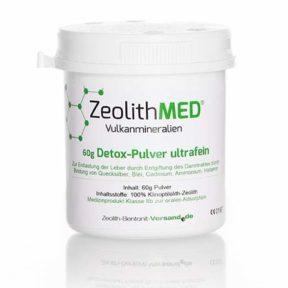 ζεόλιθος έως 10 μικρά - Zeolith MED - μικροϊονισμένος, για ανθρώπινη χρήση, 60 γραμμάρια | Zeolife.gr