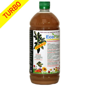 EcoPlant® Turbo - 1 lit - Eνισχυμένο βιολογικό βελτιωτικό για ψέκασμα και ενσωμάτωση