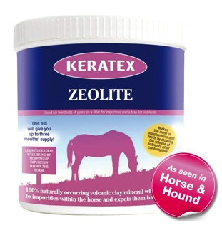 Keratex Zeolite - συμπλήρωμα διατροφής για άλογα