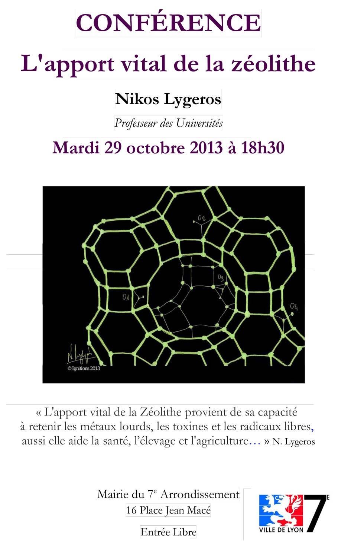 L'apport vital de la zéolithe - N. Lygeros