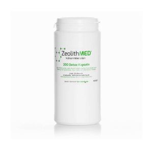 Ζεόλιθος MED® detox κάψουλες - 200 τεμάχια για 33 ημέρες