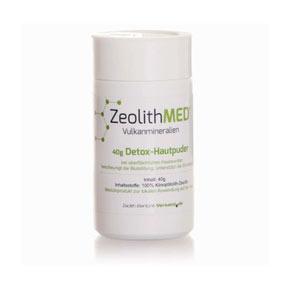 Ζεόλιθος MED® Πούδρα κατάλληλη για δερματική χρήση - 40 γραμμάρια | Zeolife.gr