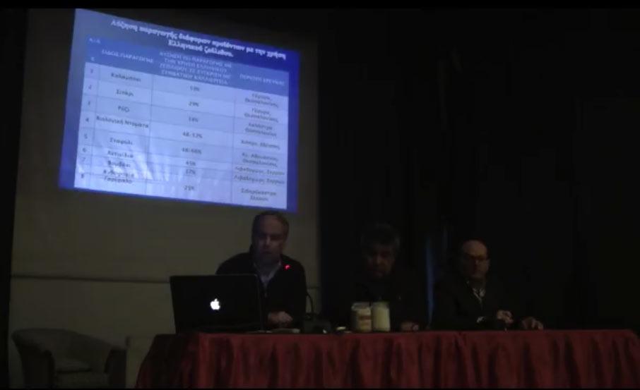 Ο ζεόλιθος ως καινοτομία της γεωργίας - Νίκος Λυγερός - Νίκαια Λάρισας