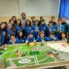 Πρωτιά της ομάδας του 1ου Γυμνασίου Νέας Ορεστιάδας από εργασία με χρήση φυσικού ζεόλιθου