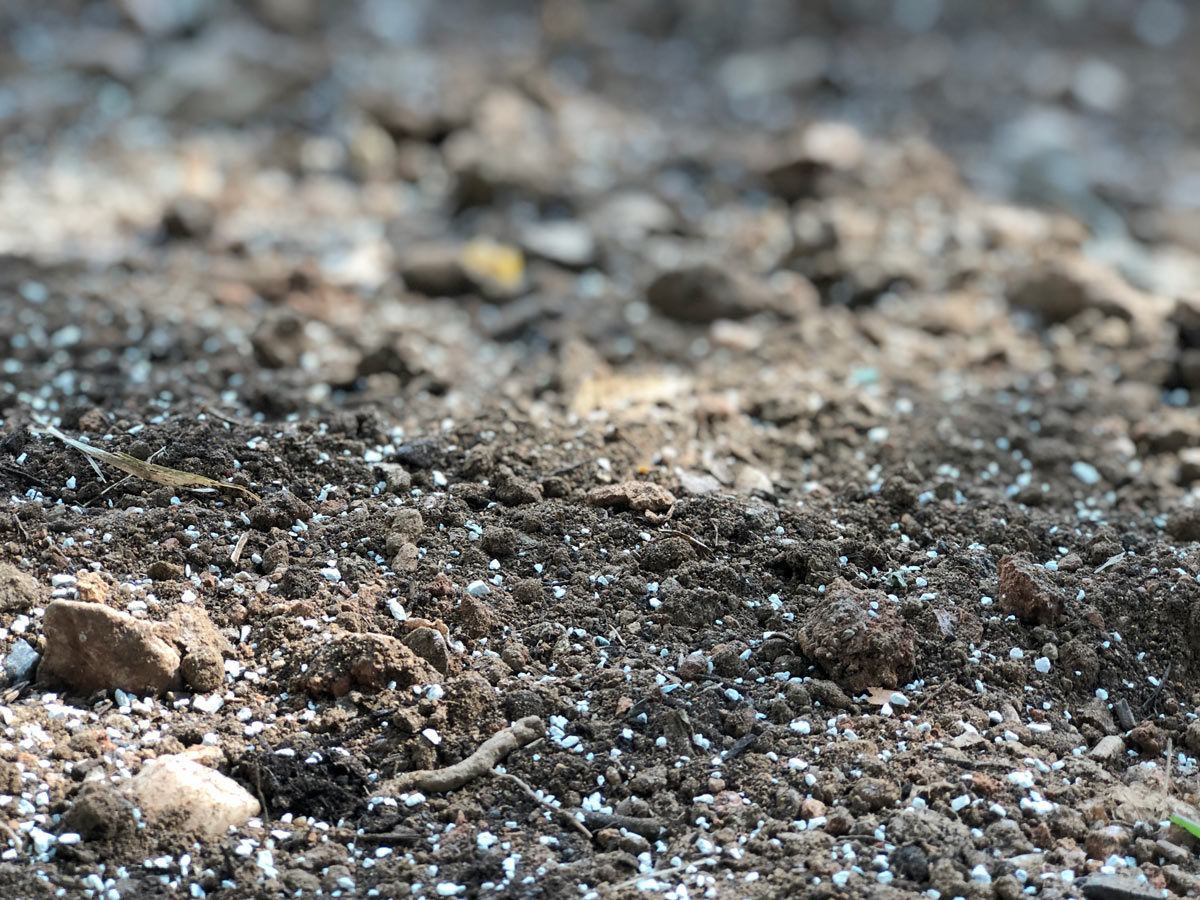 Περλίτης για αγροτική χρήση – αερισμός και διατήρηση υγρασίας